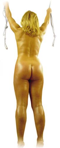 Nude body casting techniques